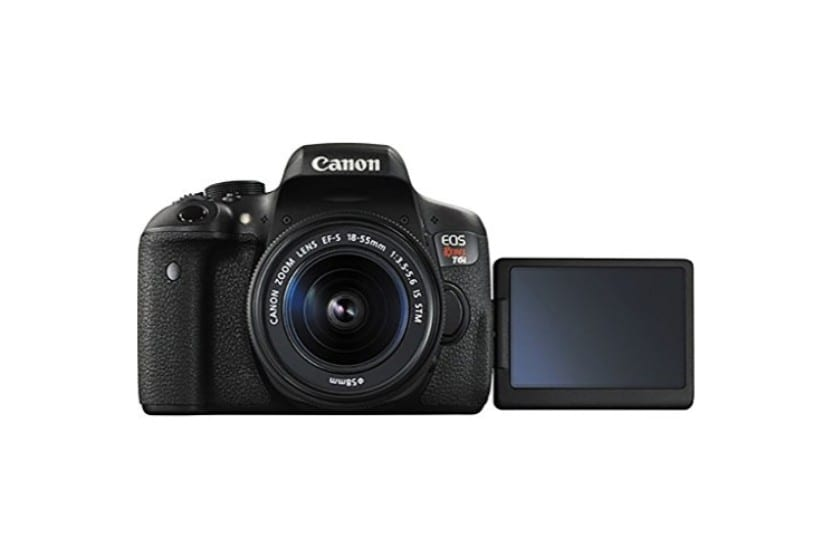 Canon Eos Rebel T6i 24 2mp Dslr Camera