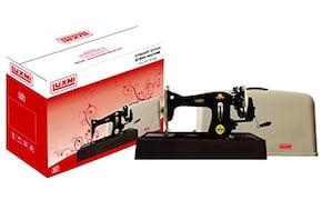Luxmi Cast Iron Manual Sewing Machine (Black)