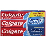 Colgate Cavity Protection Regular Flavor Toothpaste (226GM, Pack of 3)