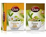 Gtee Chamomile Green Tea (71GM, Pack of 2, 25 Pieces)