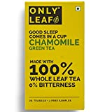 OnlyLeaf Chamomile Green Tea (Pack of 1, 27 Pieces)