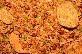 BHIKARAM CHANDMAL Chatpata Masaledar Chabeni Mixture Namkeen (400GM)