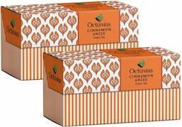Octavius Cinnamon Anise Green Tea (120GM, 60 Pieces)