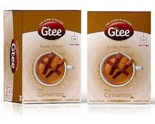 Gtee Cinnamon Green Tea (77GM, Pack of 2, 25 Pieces)