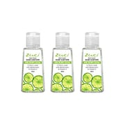 Zuci Citrus Lime Hand Sanitizer (30ML, Pack of 3)