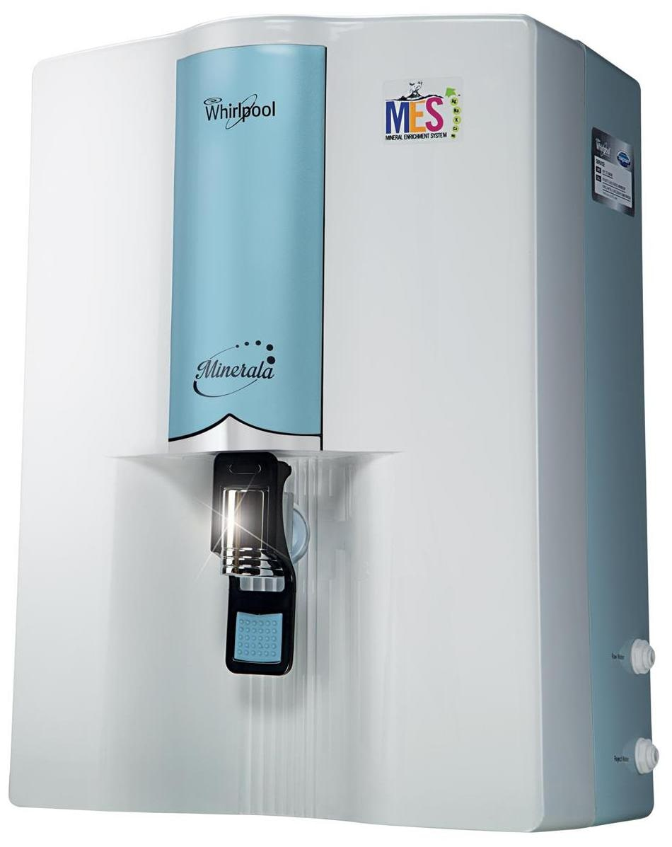 Whirlpool Classic 90 8.5L RO+MES Water Purifier (Blue & White)