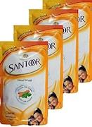Santoor Classic Sandalwood & Tulsi Hand Wash (180ML, Pack of 2)