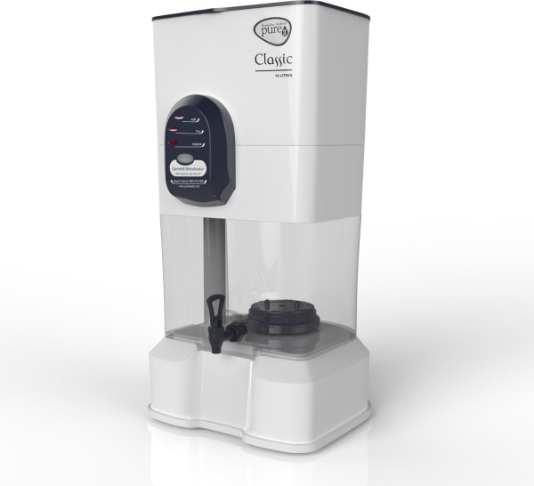 Pureit Classic 14L Gravity Based Water Purifier (White)
