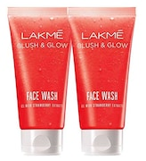 Lakme Clean Up Strawberry Face Wash (Strawberry, 100GM, Pack of 2)