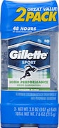 Gillette Clear Gel Power Rush Anti-Perspirant And Deodorant (108GM, Pack of 2)