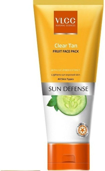 VLCC Clear Tan Fruit Face Pack (85GM)
