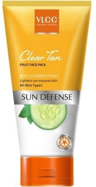 VLCC Clear Tan Fruit Face Pack (300GM)