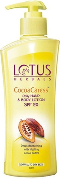 Lotus Herbals Cocoa Caress Body Lotion (250ML)