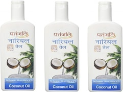 Patanjali Coconut Hair Oil (200ML, Pack of 3)