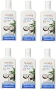 Patanjali Coconut Hair Oil (200ML, Pack of 6)
