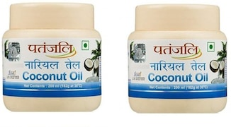 Patanjali Coconut Hair Oil (200ML, Pack of 2)