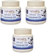 Patanjali Coconut Hair Oil (500ML, Pack of 3)