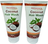 Patanjali Coconut Hair Wash (150ML, Pack of 2)