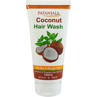 Patanjali Coconut Hair Wash (150ML, Pack of 3)