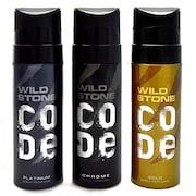 Wild Stone Code Chrome Deodorant Spray