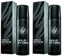 Wild Stone Code Chrome Perfume Body Spray Combo Perfume Body Spray (120ML, Pack of 2)