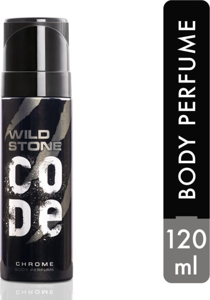 Wild Stone Code Chrome Perfume Body Spray (120ML)