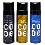 Wild Stone Code Platinum Deodorant Spray (120ML)