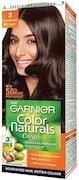 Garnier Color Naturals Nourshing Hair Color Cream (Brown, 70ML)