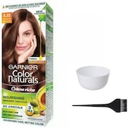 Garnier Color Naturals Nourshing Hair Color Cream (Brown, Pack of 3)