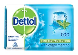 Dettol Cool Bar Soap (125GM, Pack of 3)