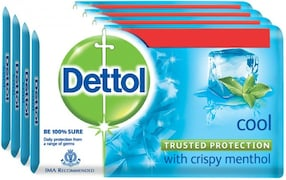 Dettol Cool Bar Soap (300GM, Pack of 4)