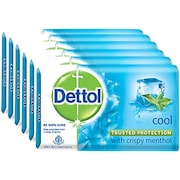 Dettol Cool Bar Soap (75GM, Pack of 6)