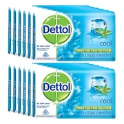 Dettol Cool Bar Soap (75GM, Pack of 12)
