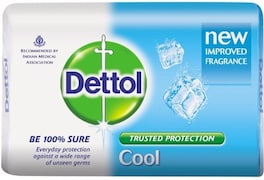 Dettol Cool Bar Soap (300GM, Pack of 3)