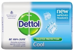 Dettol Cool Bar Soap (125GM, Pack of 5)