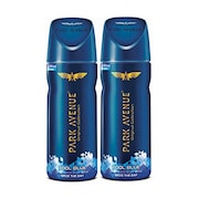 Park Avenue Cool Blue Freshness Deodorant Body Spray (130ML, Pack of 2)