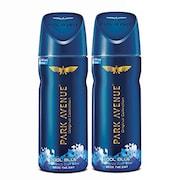Park Avenue Cool Blue Mens Classic Deodorant Body Spray (100GM, Pack of 2)