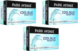 Park Avenue Cool Blue Soap (125GM, Pack of 3)