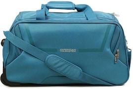 American Tourister Cosmo Wheel Duffel Strolley Bag (57cm, Blue)