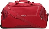 American Tourister Cosmo Wheel Duffel Strolley Bag (57cm, Red)