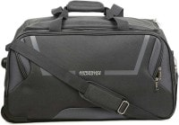 American Tourister Cosmo Wheel Duffel Strolley Bag (57cm, Grey)