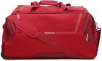American Tourister Cosmo Wheel Duffel Strolley Bag (67cm, Red)