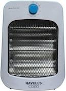 Havells Cozio Quartz Room Heater (White)