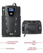 CyberPower CP600LCD UPS (Black)