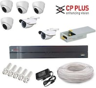 CP Plus CP84D2BPCW CCTV Security Camera (8 Channel)