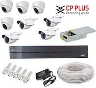 CP Plus CP84D4BPCW CCTV Security Camera (8 Channel)