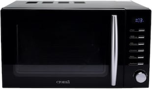 Croma CRAM0193 20 L Convection & Grill Microwave Oven (Black)