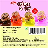 Dukes Cream 4 Fun Fruit Biscuits (Assorted, 150GM, Pack of 8)