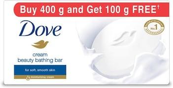Dove Cream Beauty Bathing Bar (100GM, Pack of 5)