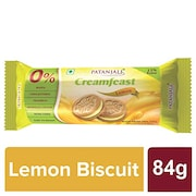 Patanjali Creamfeast Lemon (75GM, Pack of 10)
